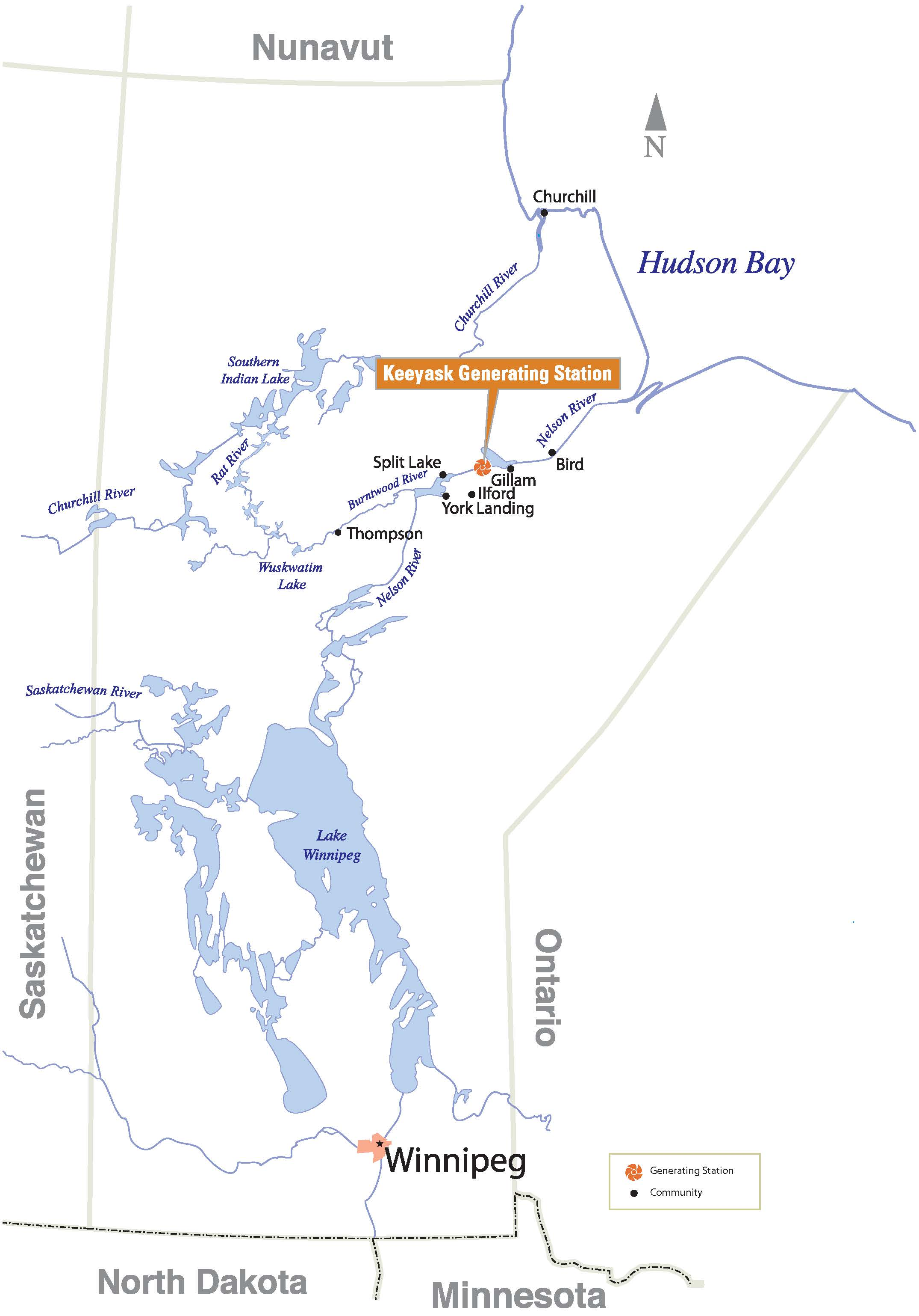The Project – Keeyask Hydropower Limited Partnership