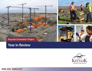 keeyask generation project 2016 / 2017 year in review