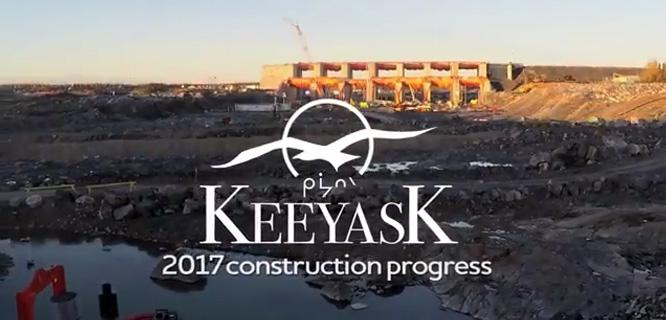 2017 Contruction Progress video